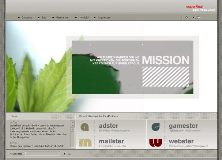 Stellenausschreibung Junior AD (Web) bei superreal
