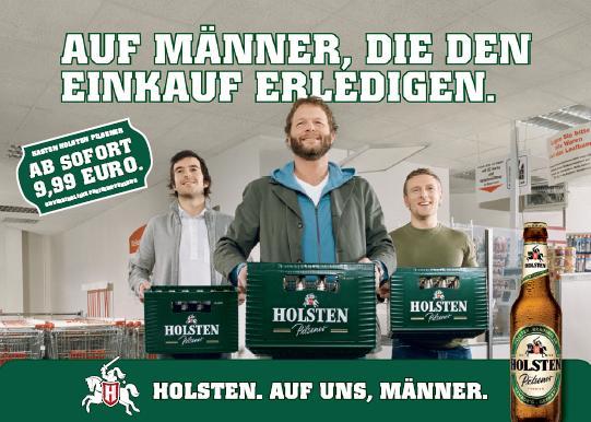 Foto: Holsten Werbung uploaded by svensonsan mit freundlicher Genehmigung von Holsten. Some rights reserved