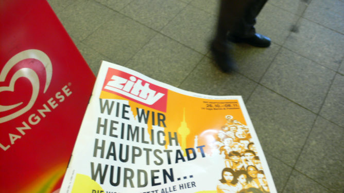 Zitty in Hamburg gekauft