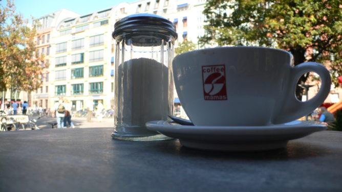 Kaffee am Hackeschen Markt in Berlin