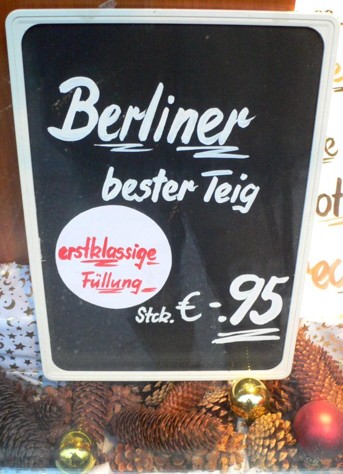 Berliner bester Teig mit Füllung