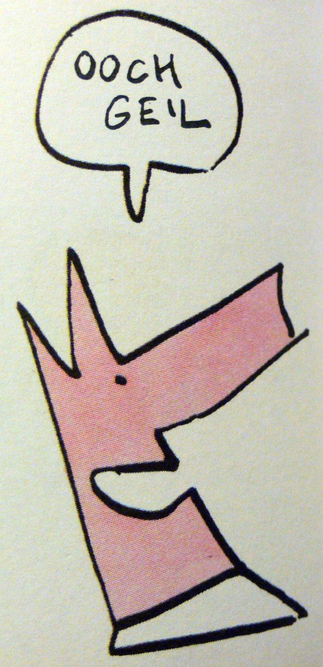 Stulle ist ooch geil, mit freundlicher Genehmigung von Reprodukt Dufter Laden, da klappt sowas noch