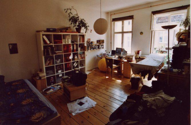 Wohnung in Berlin Isländische Strasse, das Wohnzimmer