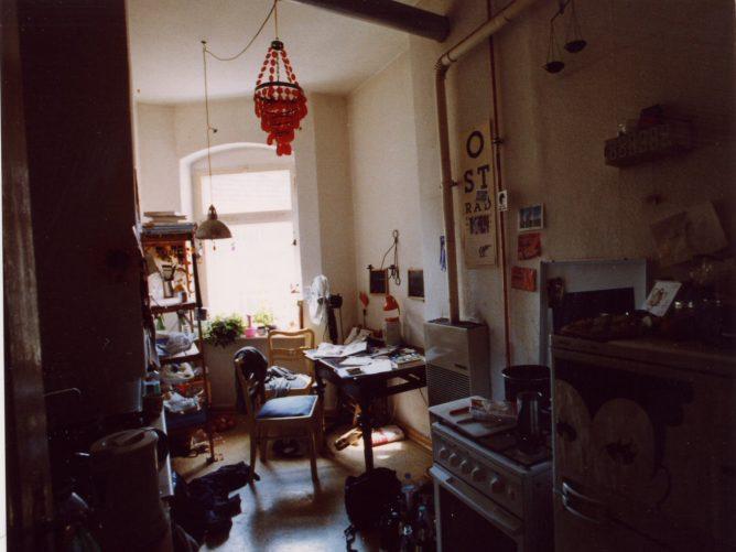 Wohnung in Berlin Isländische Strasse, die Küche