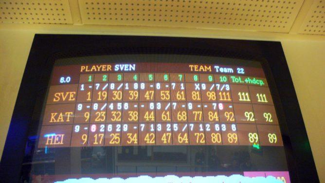 punktetsand bowling