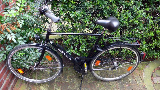 Das ist Pedro, mein neues Fahrrad