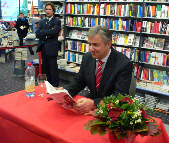 Wowereit in Hamburg