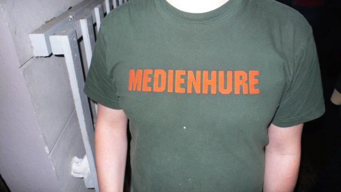 Medienhure auf dem Barcamp Berlin