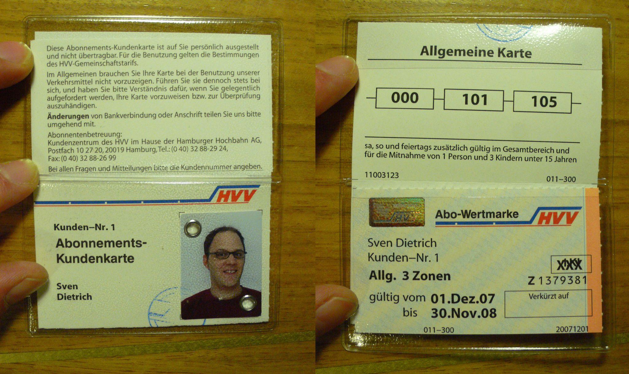 hvv abo karte HVV Abokarte vs. BVG Ausbildungsticket | pop64.com