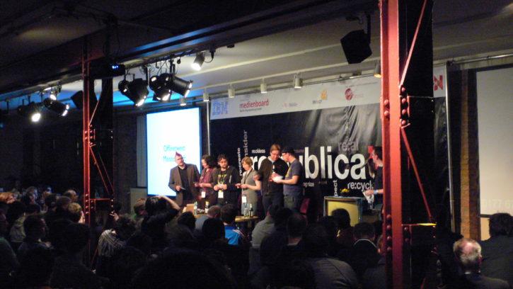 Twitterlesung auf Re:publica 09