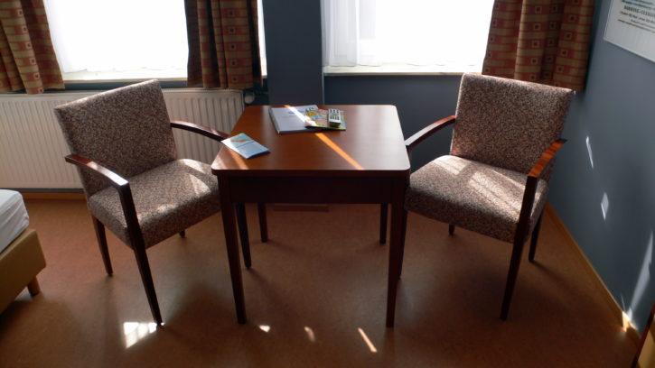 Möbel im Aparthotel Klassik Helgoland