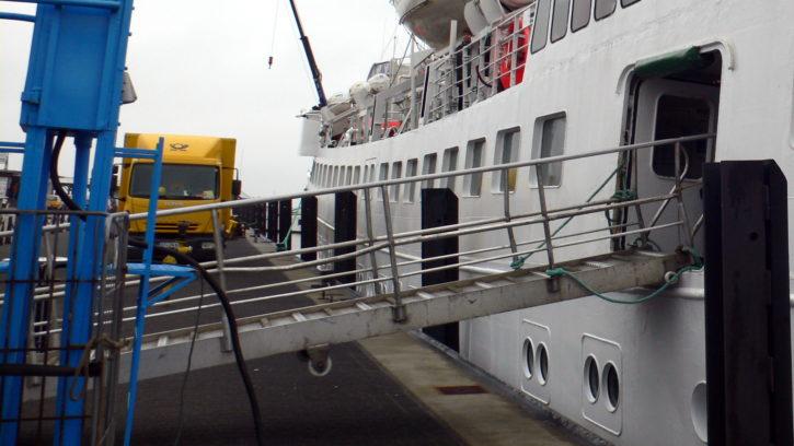 Auf dem Weg nach Helgoland mit der Atlantis