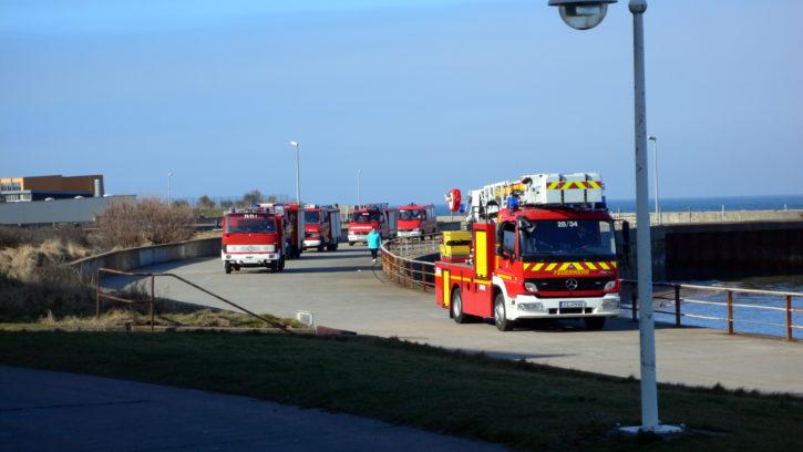 Feuerwehr auf Helgoland