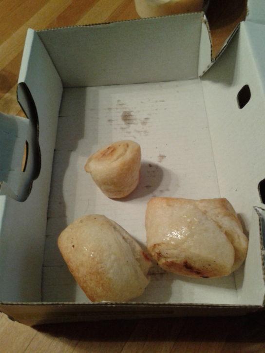 Kleine Pizzabrötchen von Joeys
