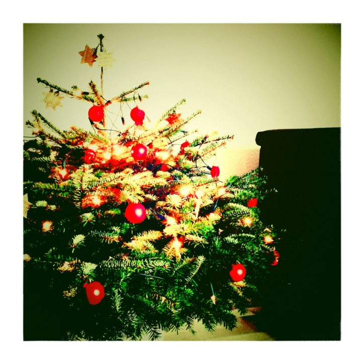 Weihnachtsbaum Weihnachten 2013