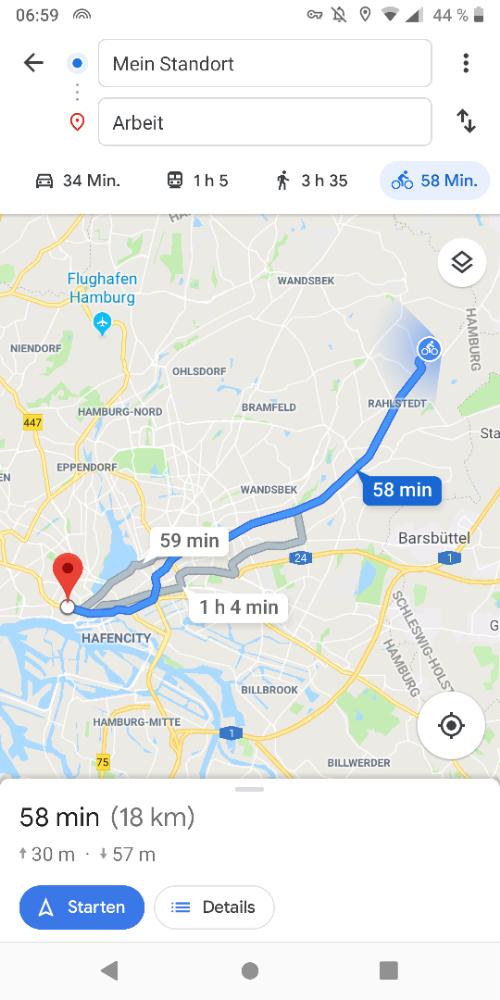 Mit Dem Rad Zur Arbeit Hamburg