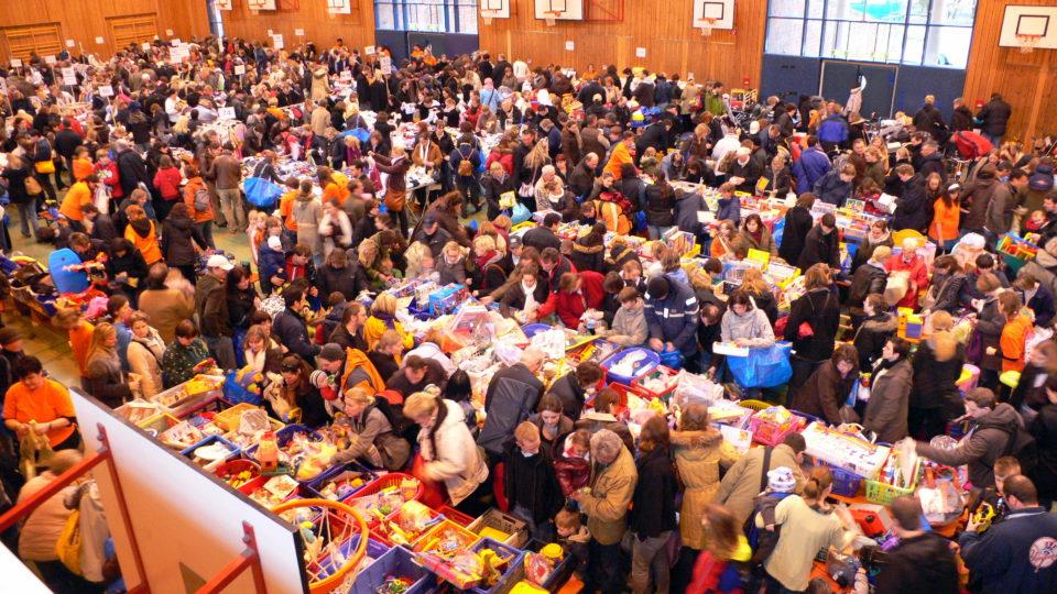 Kinderflohmarkt Hamburg - 3 Minuten nach Öffnung