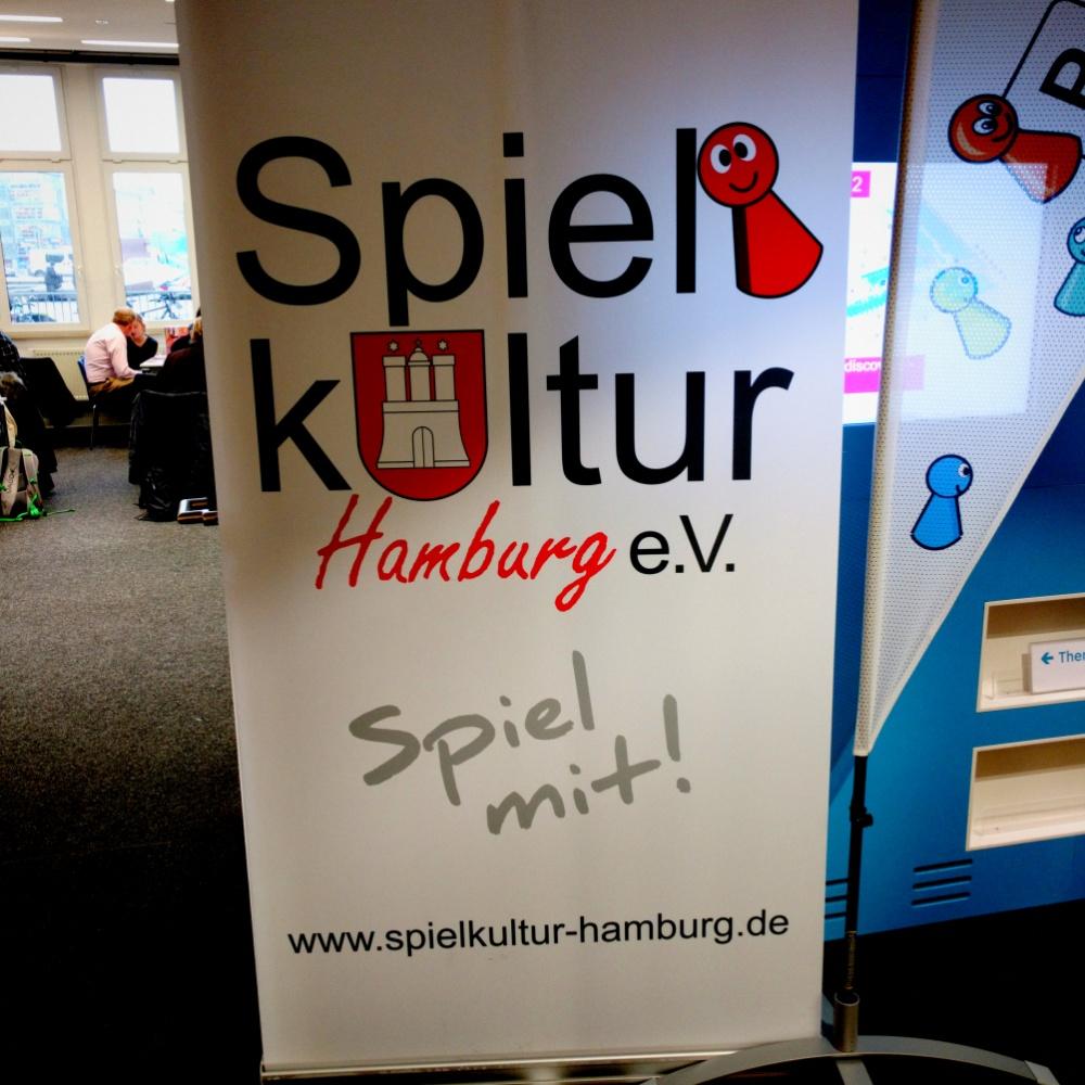 Spiele Nachmittag in der Zentralbibliothek Hamburg