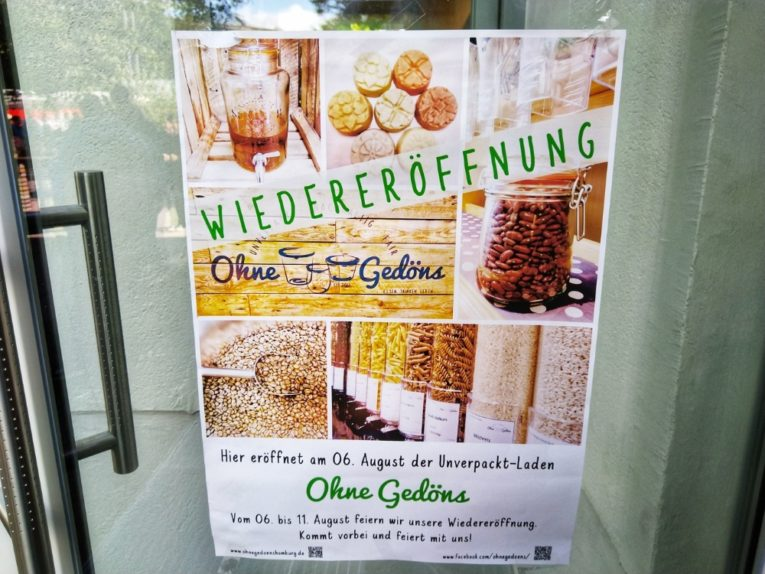 Ohne Gedöns Eröffnung